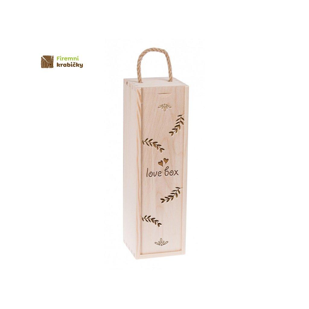 11984 dreveny box na vino lovebox prirodni barva