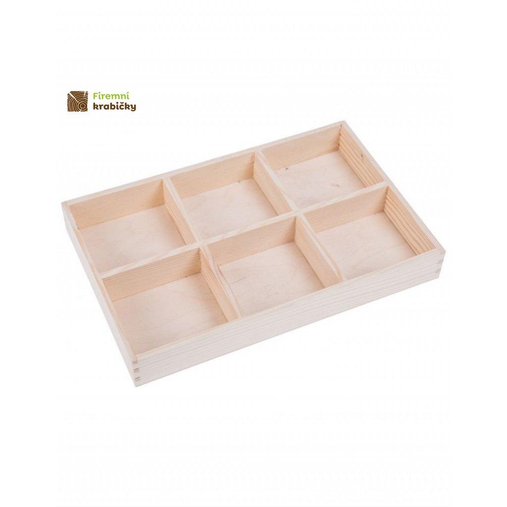 13223 drevena krabicka organizer