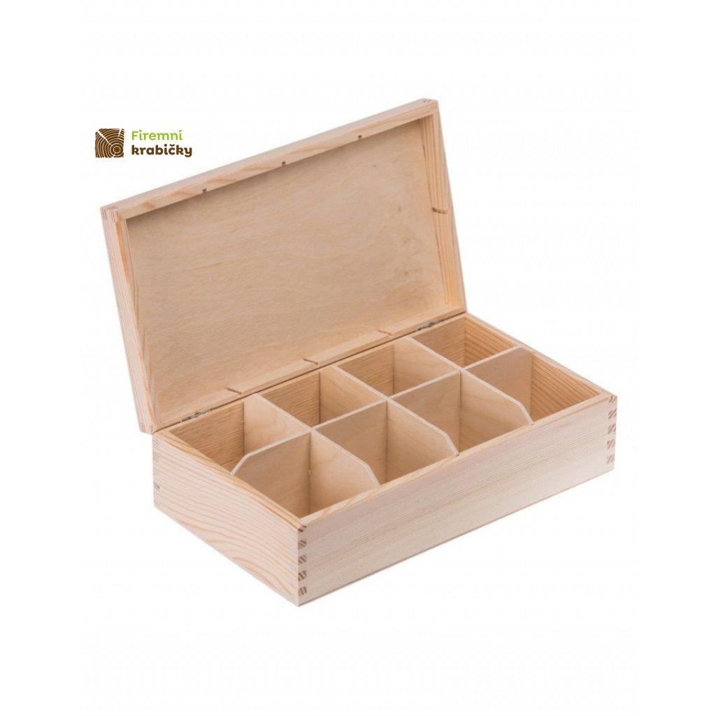 13301 drevena krabicka box na caje