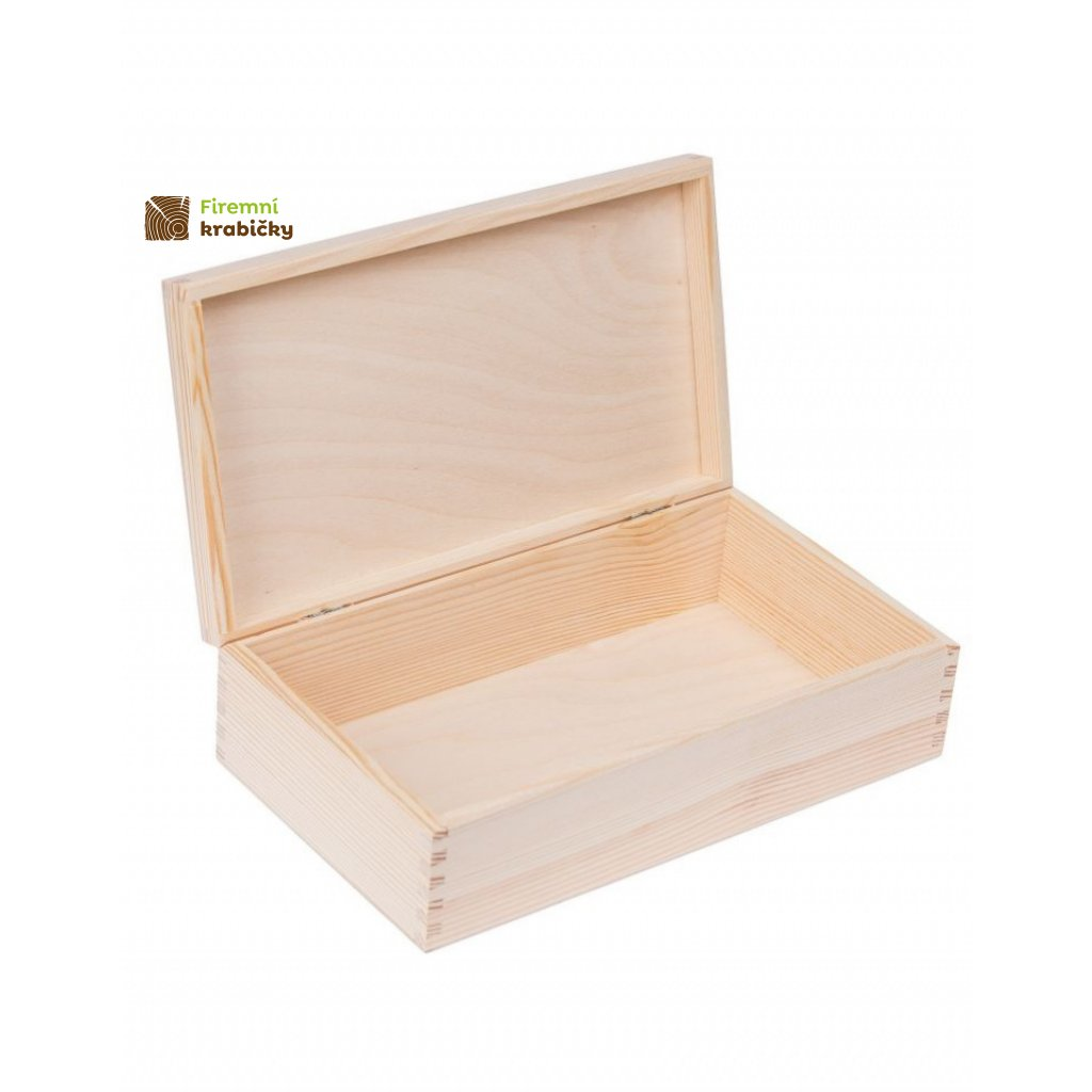 13313 drevena krabicka 28x16 cm