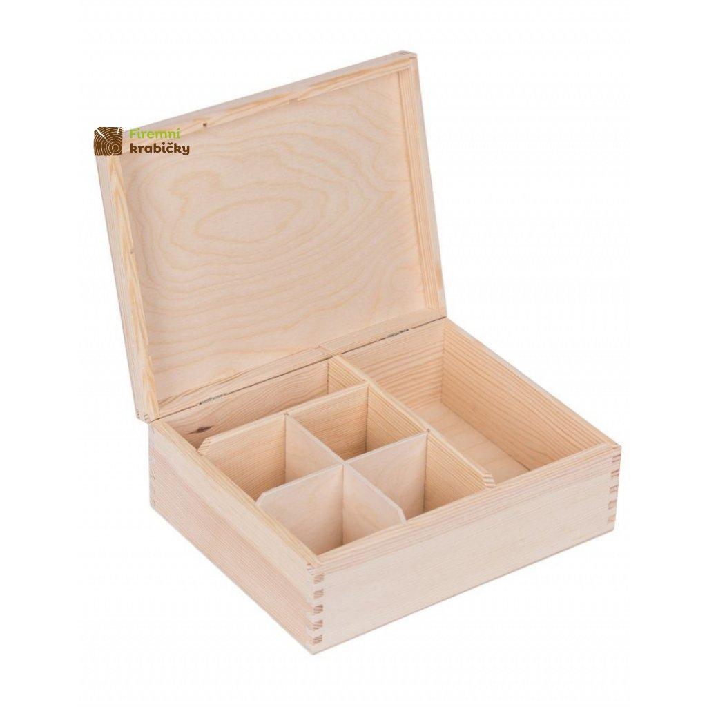 13325 drevena krabicka organizator