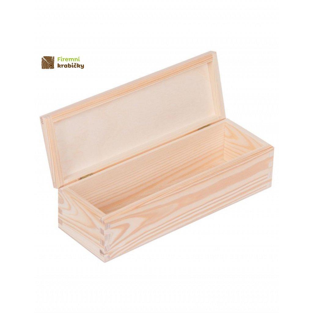 13358 drevena krabicka 9 5x28 5 cm
