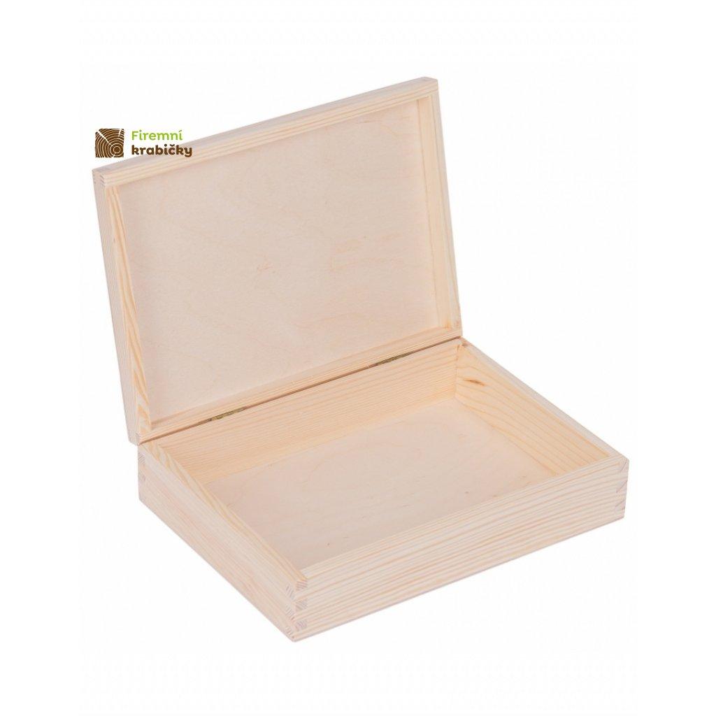13361 drevena krabicka 24x17x5 5 cm