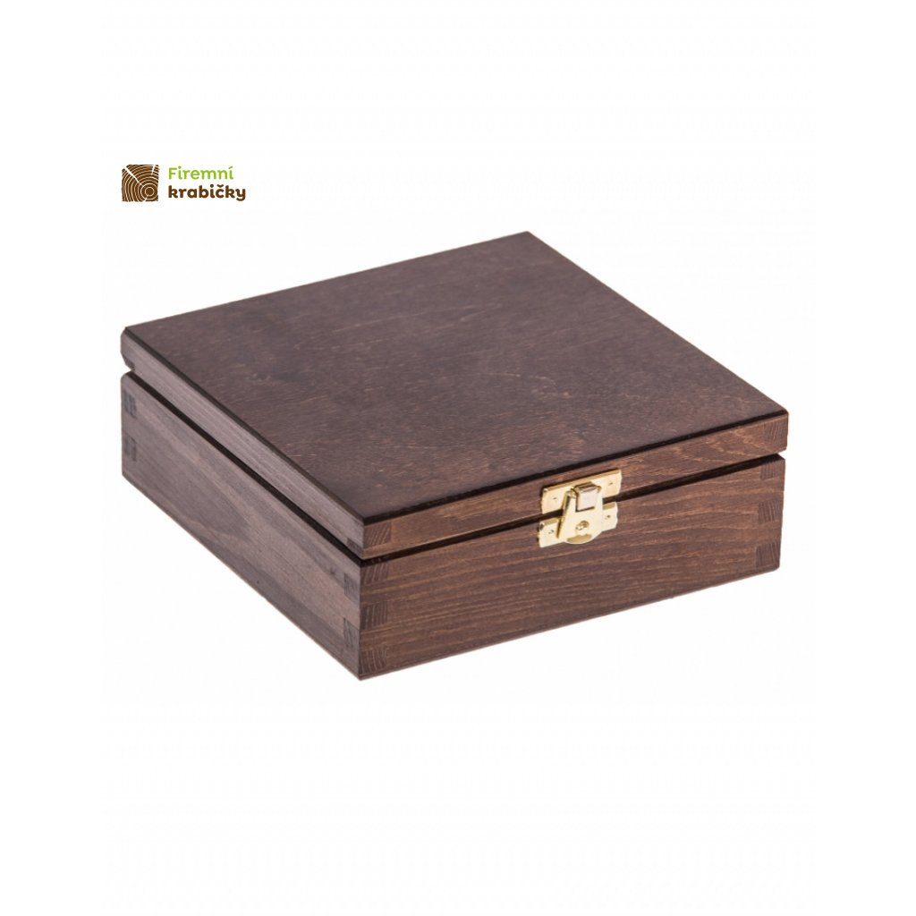 13391 drevena krabicka 16x16cm