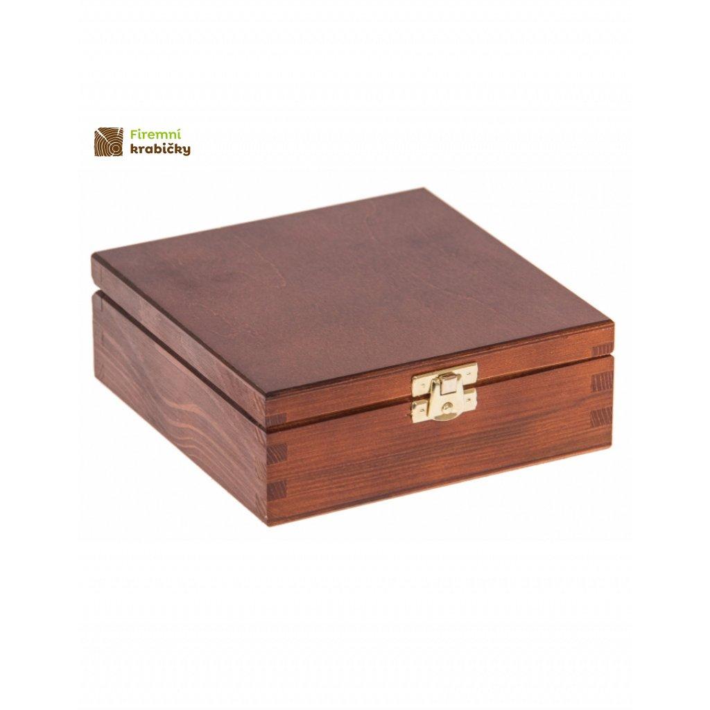 13394 drevena krabicka 16x16cm orech