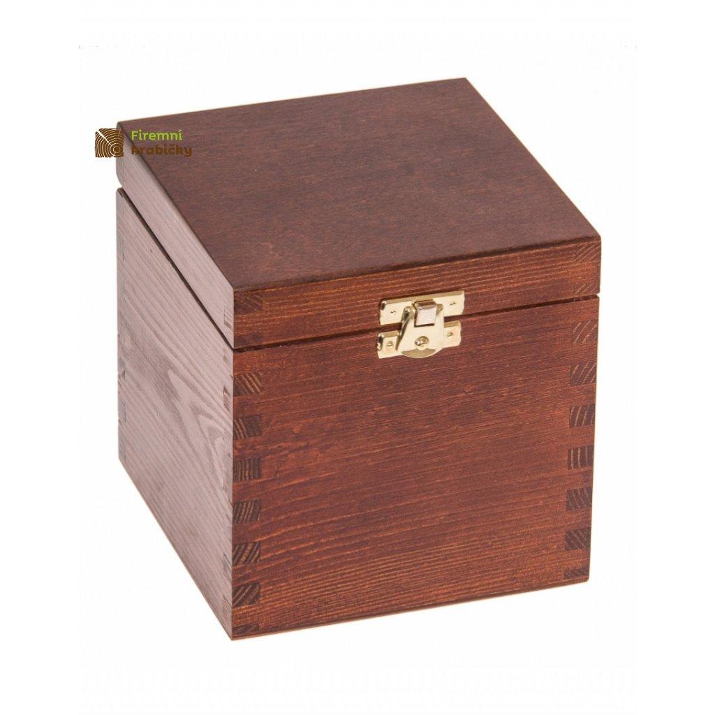 13403 drevena krabicka 13x13x13 5 orech