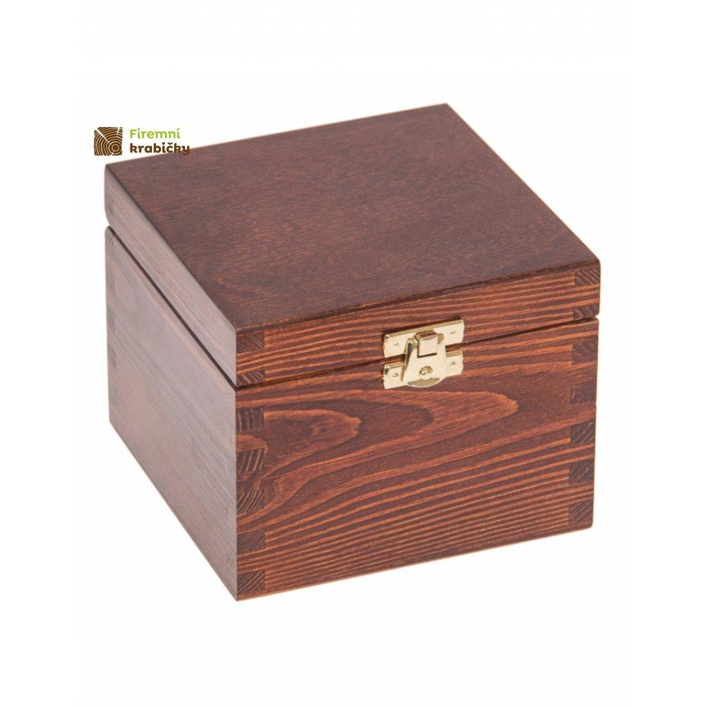 13409 drevena krabicka 13 5x13 5x10 5cm orech
