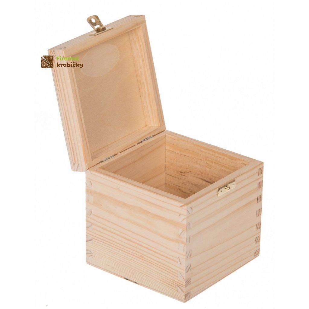 13427 drevena krabicka 13x13x13 5cm z
