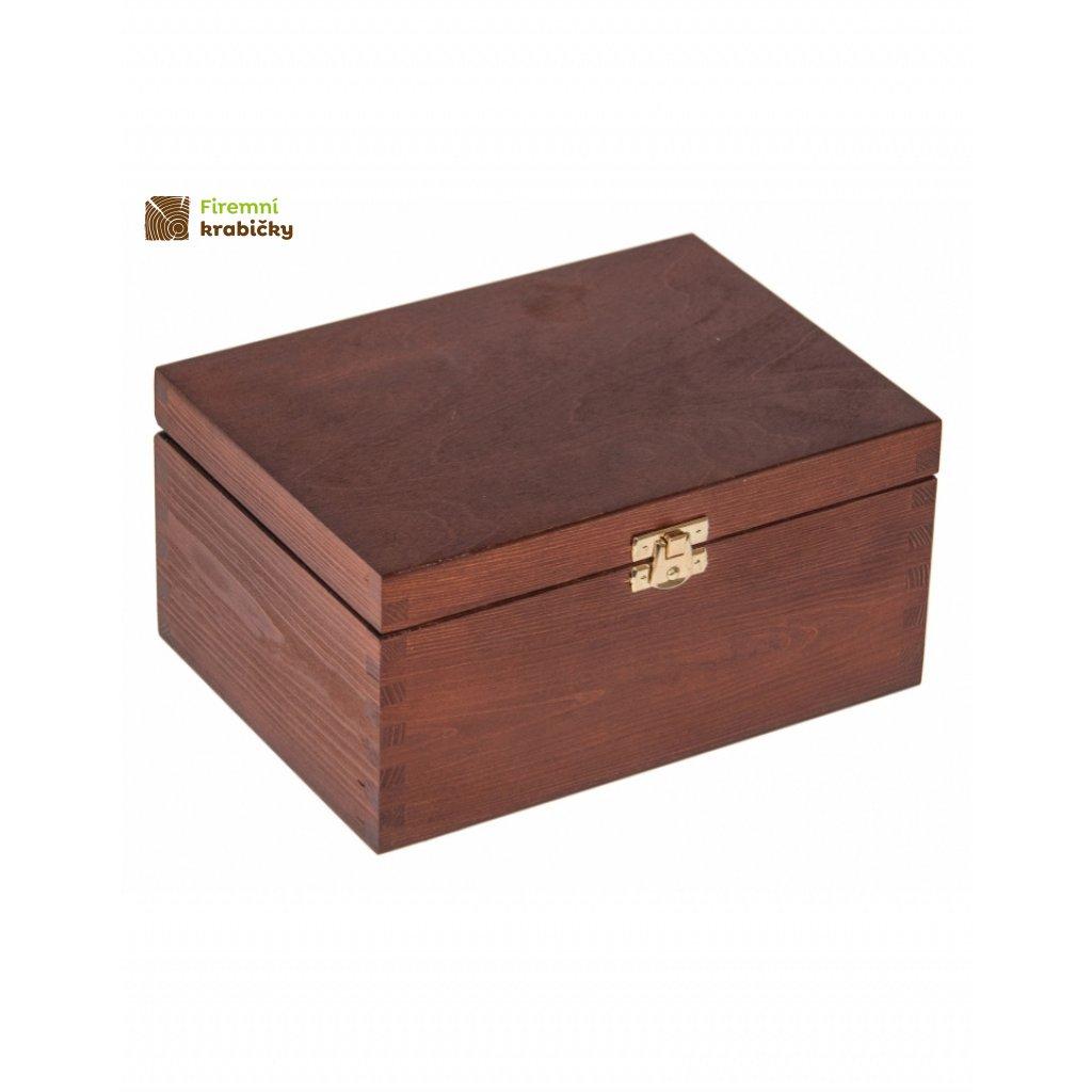 13436 drevena krabicka 22x16x10 5 cm z orech