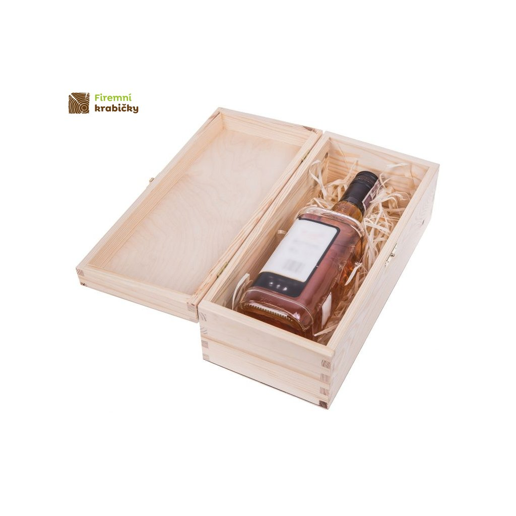drewniane pudelko pojemnik na alkohol carmen vii