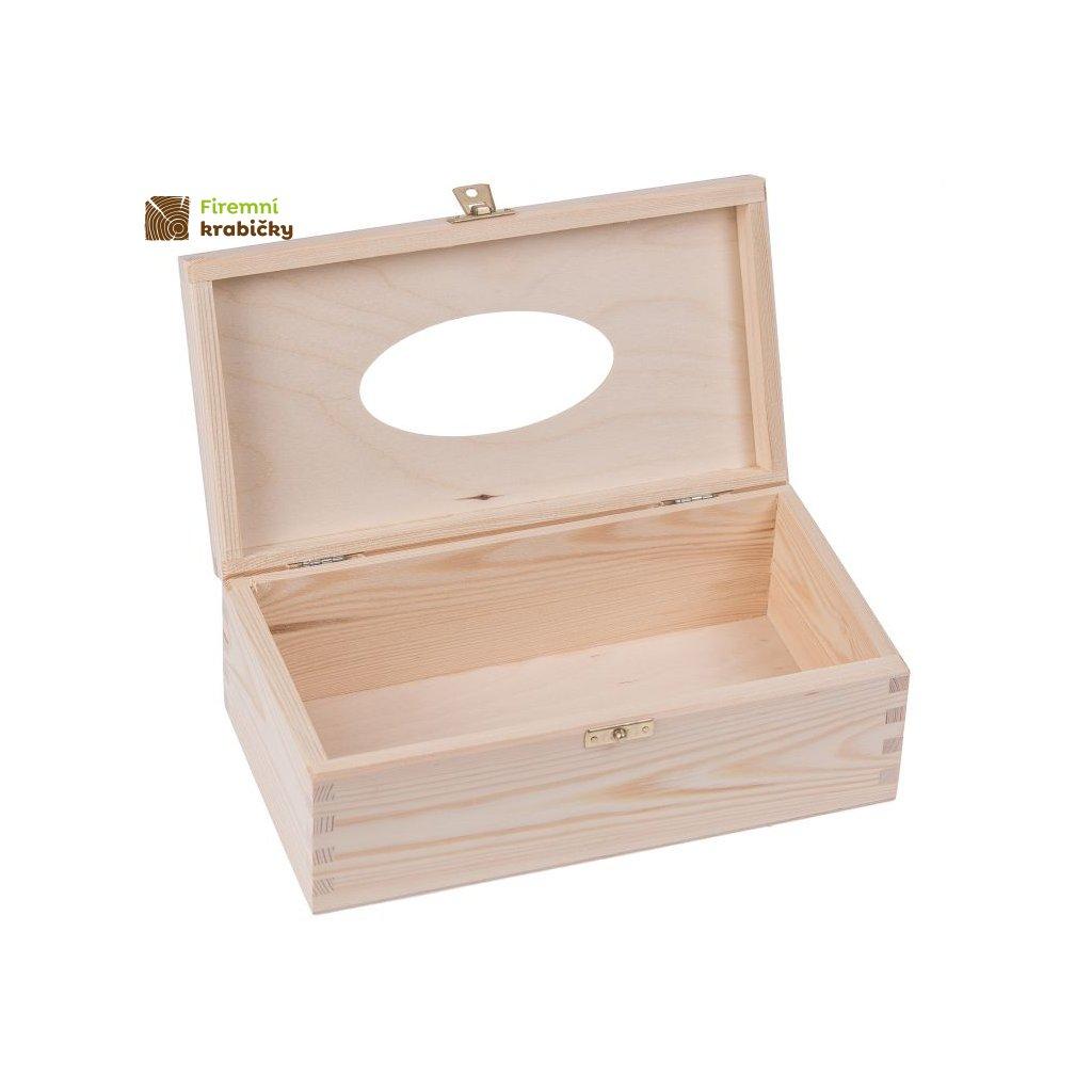 chustecznik drewniany otwierany z zapieciem