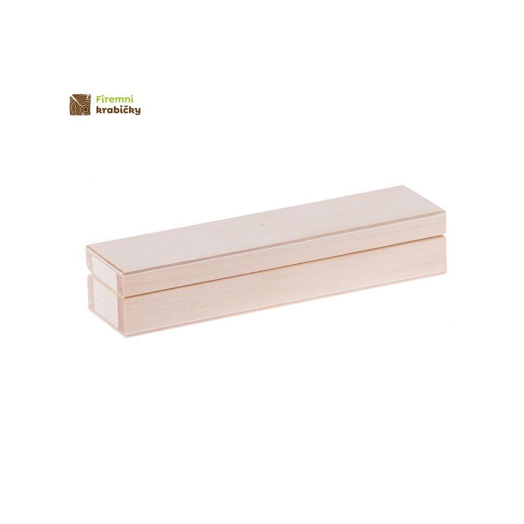 drewniany piornik na dlugopis arek