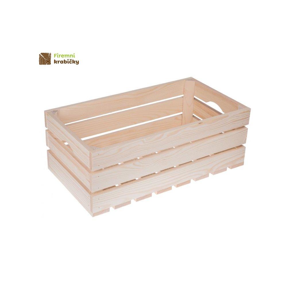 skrzynka drewniana 50x27x18 cm