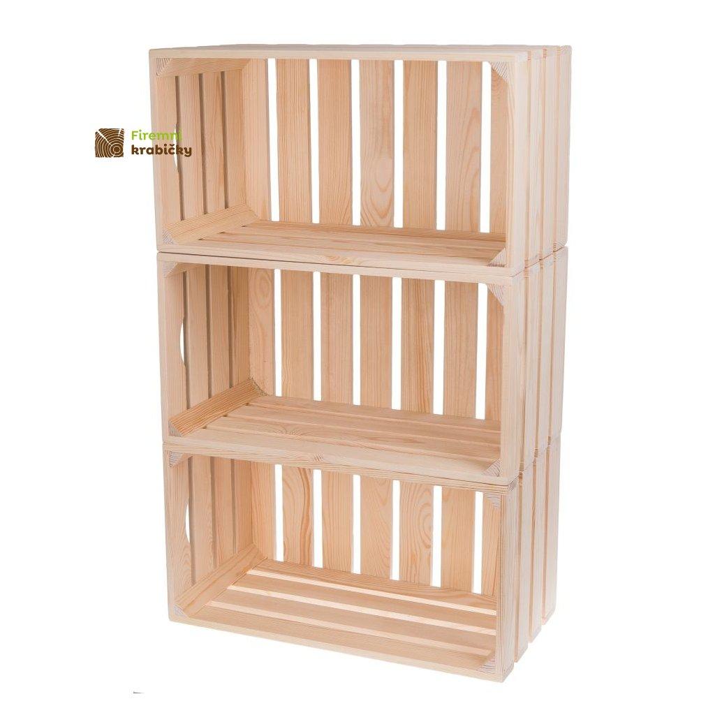 skrzynka drewniana 50x27x255 cm 3 sztuki