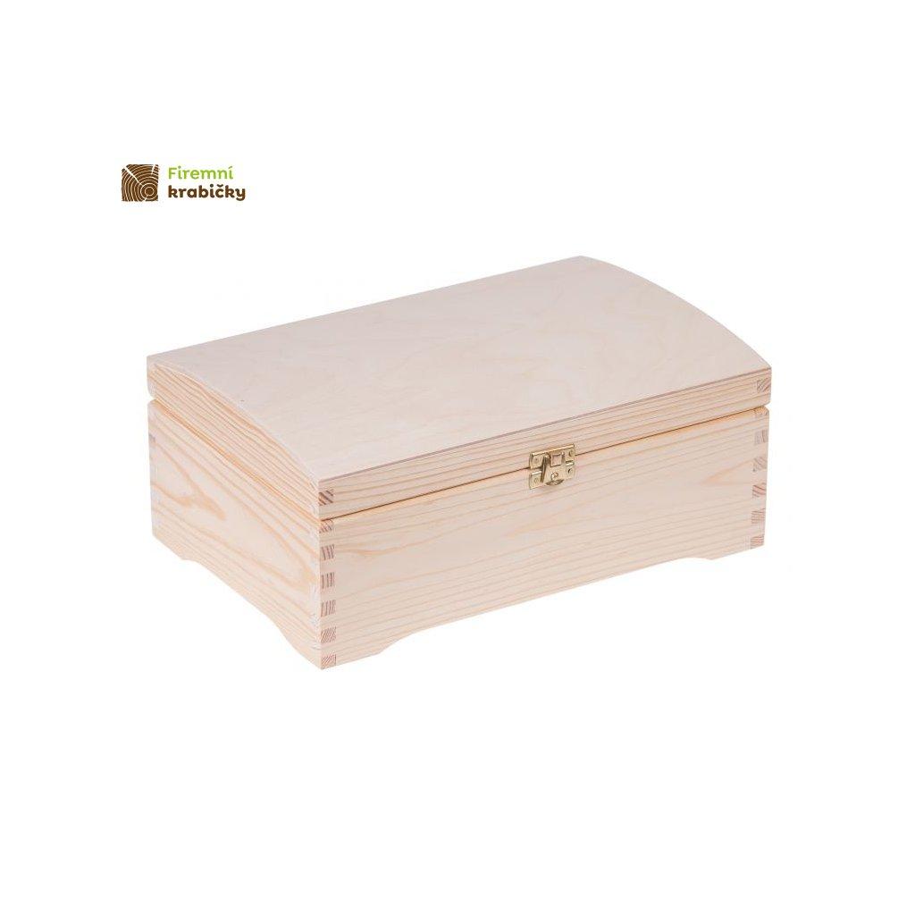 kufer sosnowy skrzynia 20x30 cm z zapieciem