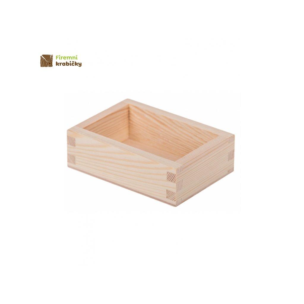 17633 1 drewniany pojemnik organizer na wizytowki wizytownik