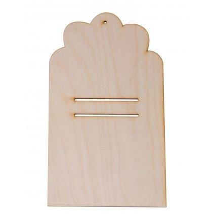 drewniana podkladka 2 pod kalendarz