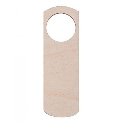 drewniana zawieszka na drzwi