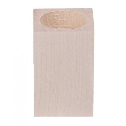 swiecznik kwadrat 8 cm
