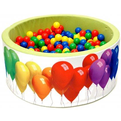 14729 detsky bazenek s micky balonky barevne 200 ks micku