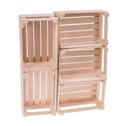 drewniana mini skrzyneczka 175x120 cm 5 sztuk