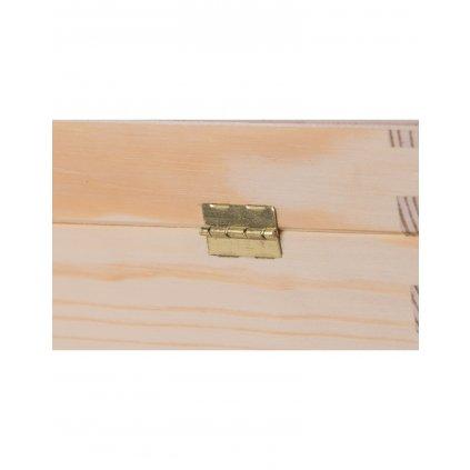 pudelko drewniane pojemnik na wino carmen iii