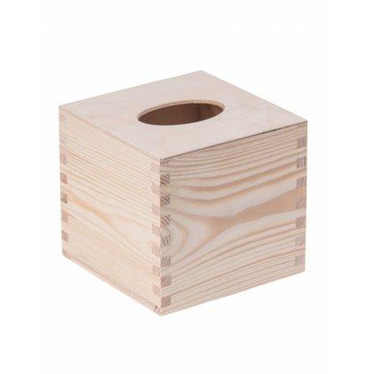 11813 drevena krabicka na kapesniky