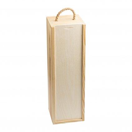 13280 drevena krabicka box na lahev vina