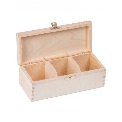 13316 drevena krabicka box na caj