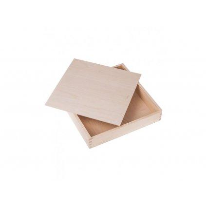 Dřevěná krabička 33x33x6,3