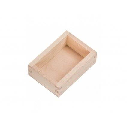 Dřevěná krabička 6,9x10,4x3,5