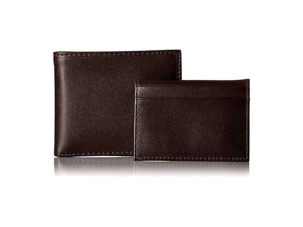 Pánská peněženka Tommy Hilfiger Men s Multi Card Passcase Brown ... 5e65155535