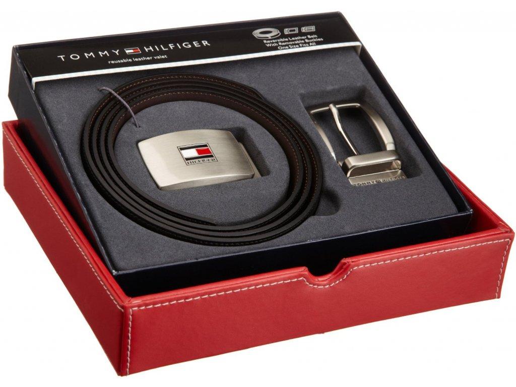 Pánský pásek Tommy Hilfiger Leather Belt