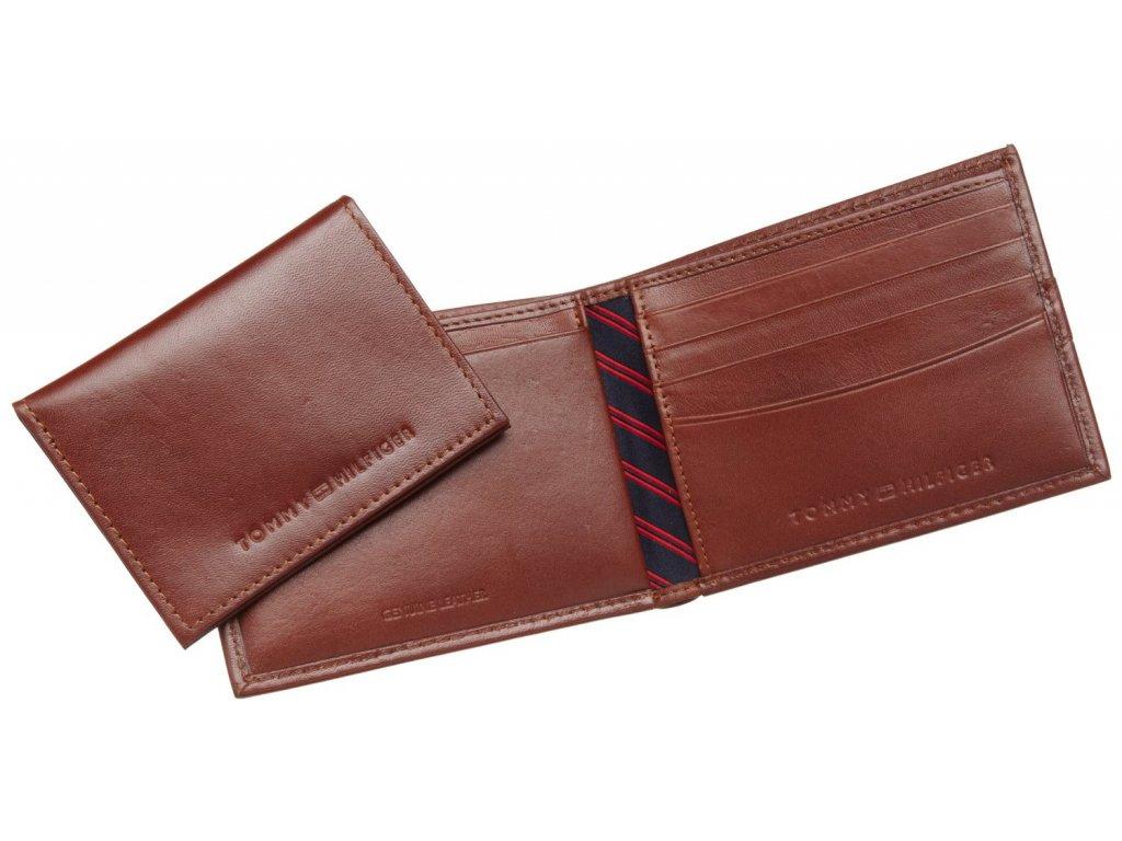 Pánská peněženka Tommy Hilfiger Mens Ranger Passcase Brown ... 62f7d716a6