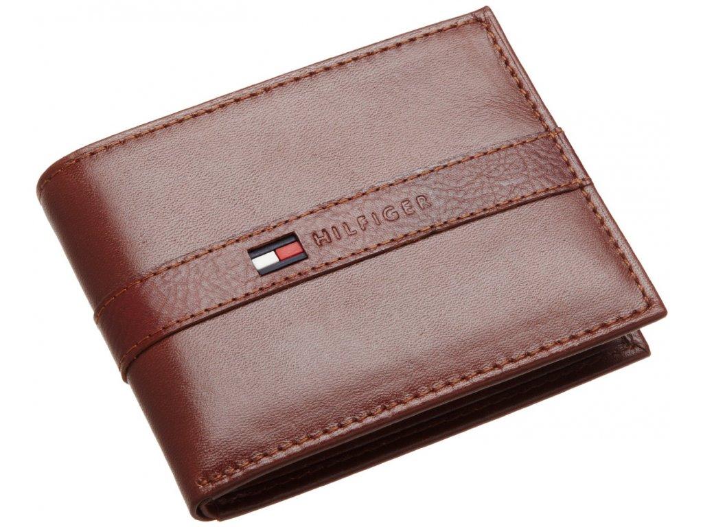 Pánská peněženka Tommy Hilfiger Mens Ranger Passcase Brown