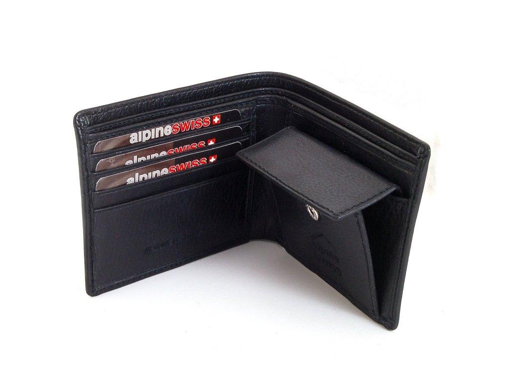 Pánská peněženka Alpine Swiss Pocket Coin