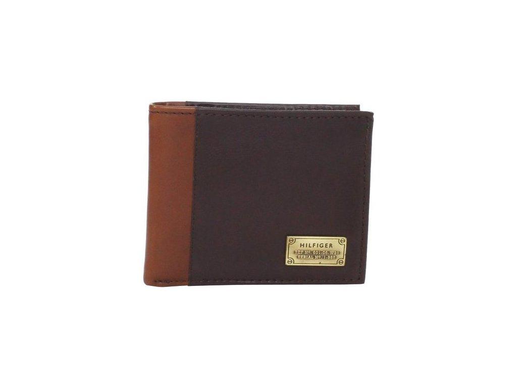 Pánská peněženka Tommy Hilfiger Men s Billfold Passcase Brown ... aaa1569fb2