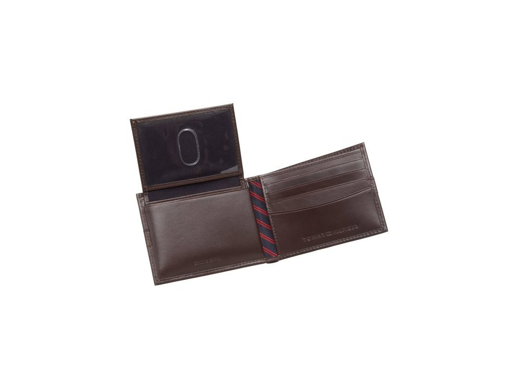 Pánská peněženka Tommy Hilfiger Men´s Ranger Dark Brown - Firstshop.cz 3c45dc9a66