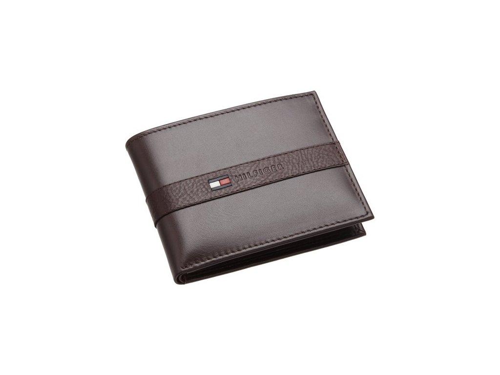 Pánská peněženka Tommy Hilfiger Men´s Ranger Dark Brown
