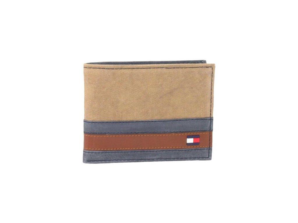 Pánská peněženka Tommy Hilfiger Men's Exeter Khaki