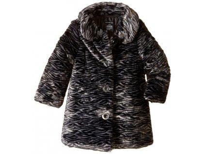 Zimní dětský kabátek Calvin Klein - černý