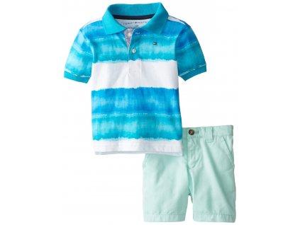 Tommy Hilfiger - tričko a kraťásky