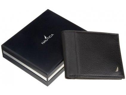 Pánská peněženka Nautica Men´s Black Passcase
