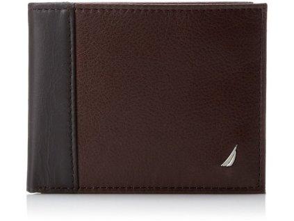 Pánská peněženka Nautica Men´s Brown Passcase