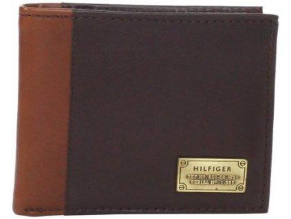 Pánská peněženka Tommy Hilfiger Men's Billfold Passcase Brown
