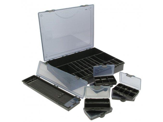 NGT TACKLE BOX SYSTEM BLACK 7+1