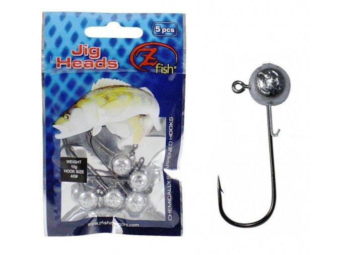 zfish jig head premium 7g hacek 2 0 5 ks