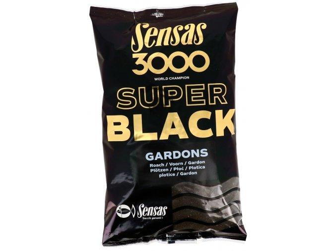 3000 Super Black (Plotice-černý) 1kg