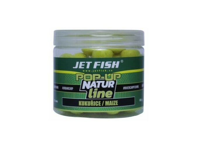 Jet Fish Pop-Up Natur Line Kukuřice/Maize