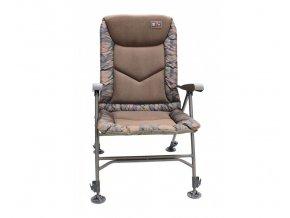 zfish kreslo deluxe camo chair 2